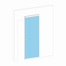 Раздвижная дверь со скрытым механизмом